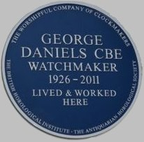 Daniels blue plaque